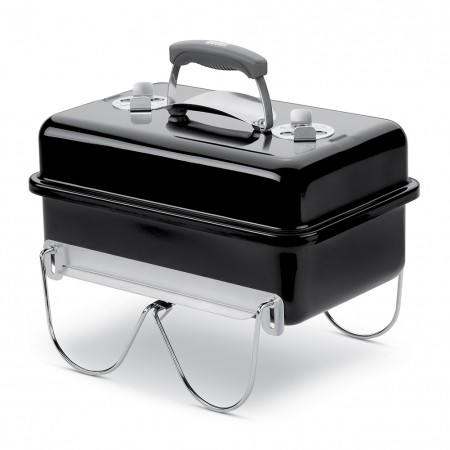 Barbecue Weber Go Anywhere nero carbone