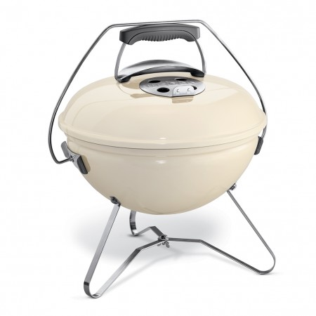 Barbecue Weber Smokey Joe Premium 37 cm bianco avorio