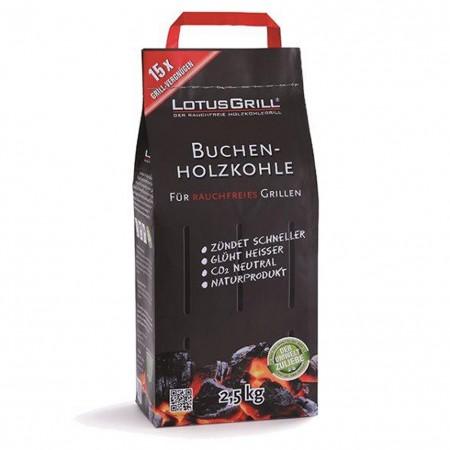 Carbonella di Faggio LotusGrill 2,5kg LGBK25