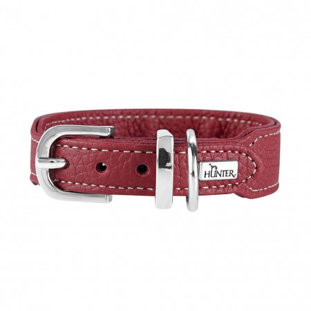 Collare Cannes Mini 32 Rosso scuro Hunter 64701