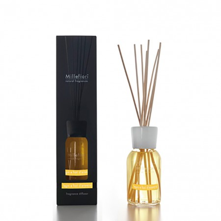 Diffusore Stick Natural Legni e Fiori d'Arancio Millefiori 250ml