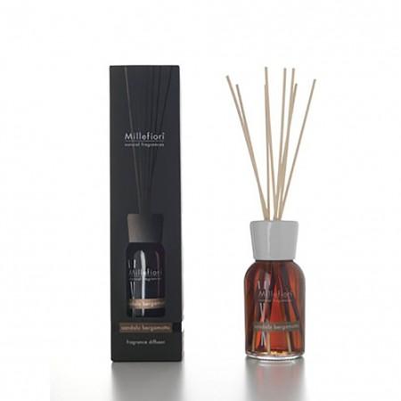 Diffusore Stick Natural Sandalo e Bergamotto Millefiori 250ml