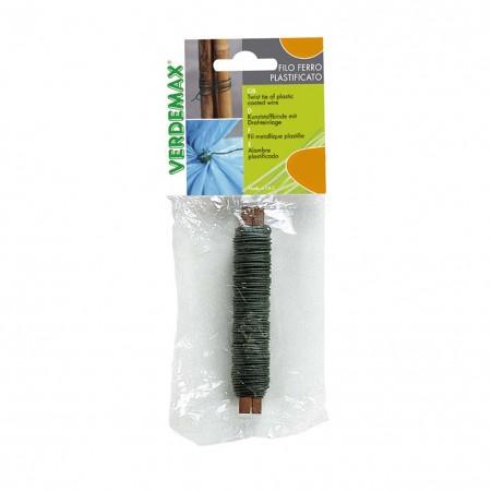 Filo acciaio plastificato bobina 20m Verdemax