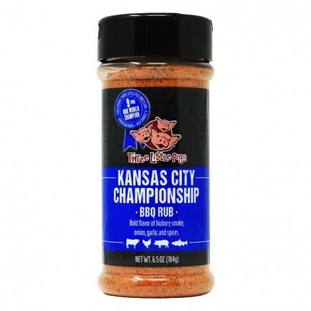 Rub BBQ Kansas City Championship Three Little Pigs 184g