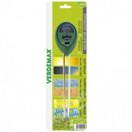 Misuratore universale di luce umidita ph Verdemax