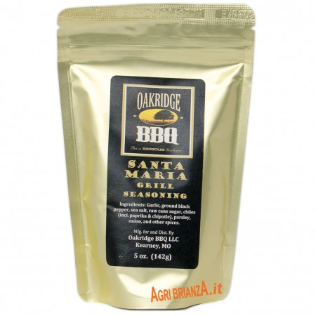 Oakridge santa maria grill seasoning rub 142g