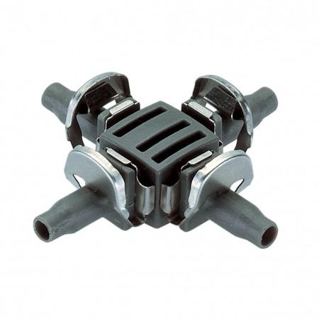 "Raccordo a 4 vie 4,6 mm (3/16"") Micro Drip System Gardena"