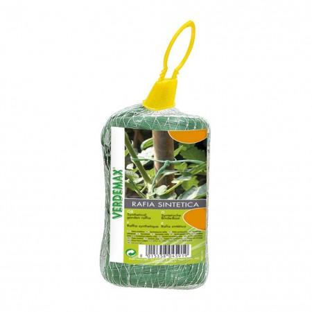 Rafia sintetica verde gomitolo 400m Verdemax