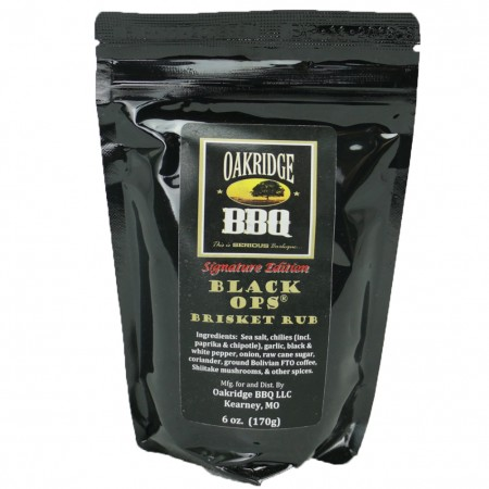 Rub Oakridge Black ops brisket 170g
