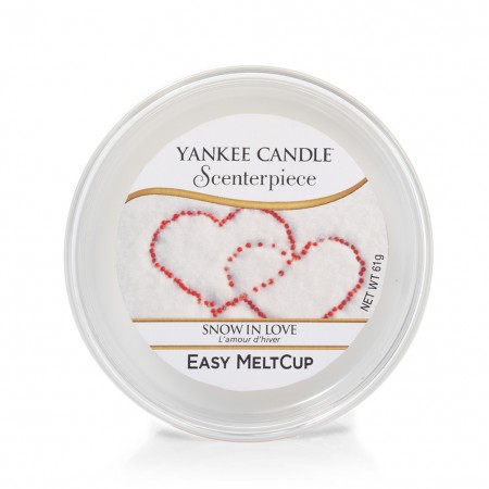 Scenterpiece Easy MeltCup Snow in Love Yankee Candle