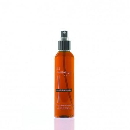 Spray ambiente Sandalo e Bergamotto Millefiori 150ml