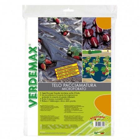 Telo pacciamatura microforato 1,5x10m Verdemax
