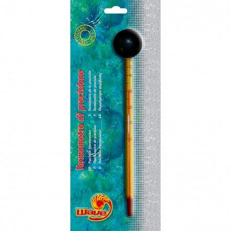 Termometro per acquario Slim con ventosa Wave