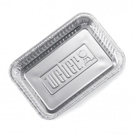 Vaschette in alluminio piccole Weber 10 Pz