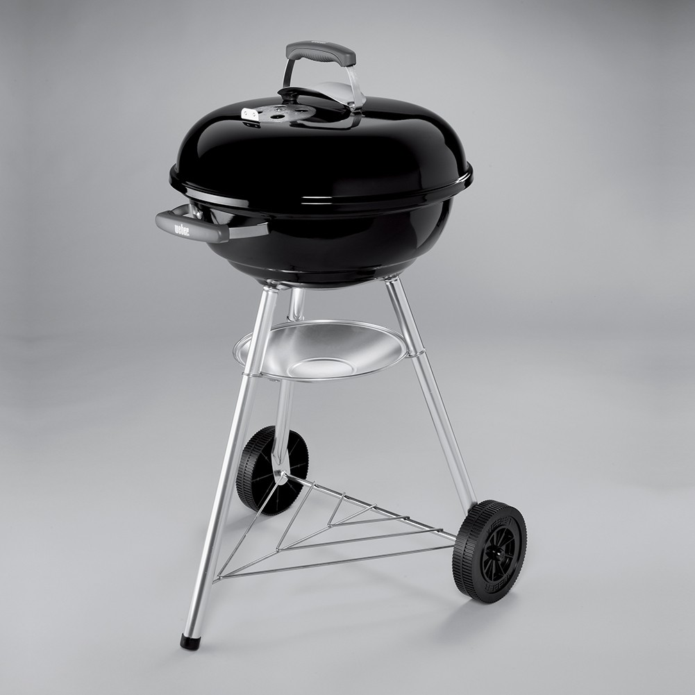 barbecue weber compact kettle 47 cm nero. Black Bedroom Furniture Sets. Home Design Ideas