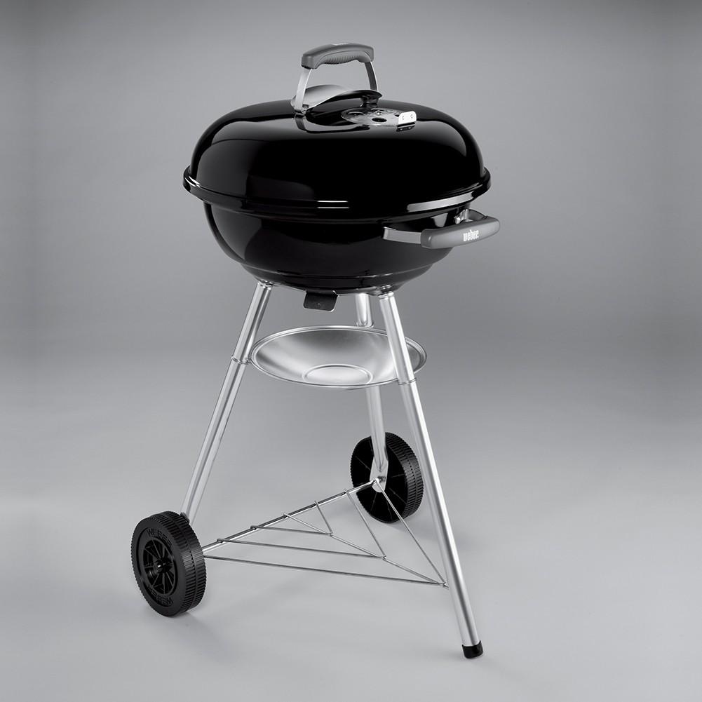 barbecue weber compact kettle 47 cm nero. Black Bedroom Furniture Sets. Home Design Ideas