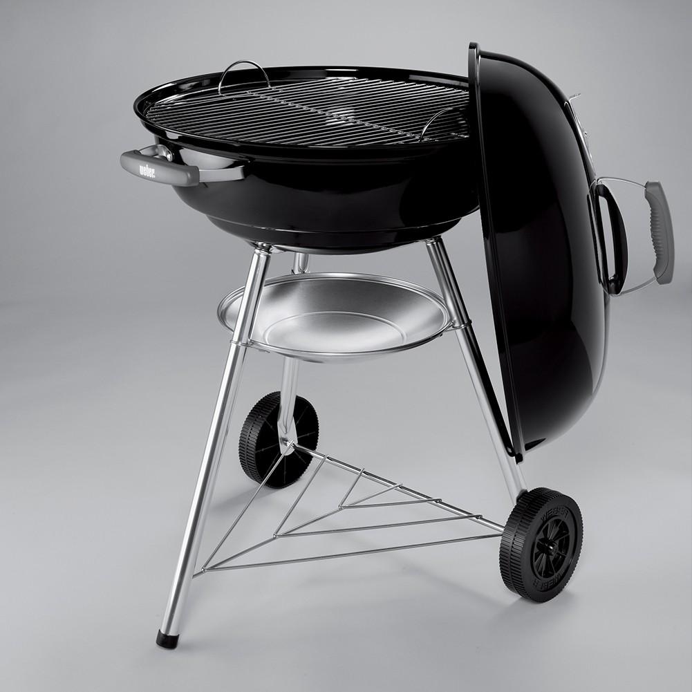 barbecue weber compact kettle 57 cm nero. Black Bedroom Furniture Sets. Home Design Ideas