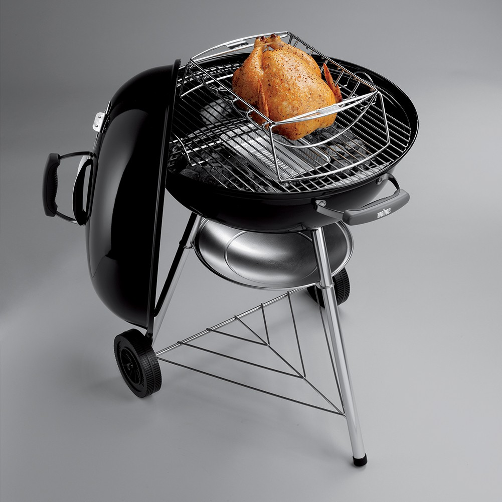 barbecue weber compact kettle 57 cm nero. Black Bedroom Furniture Sets. Home Design Ideas