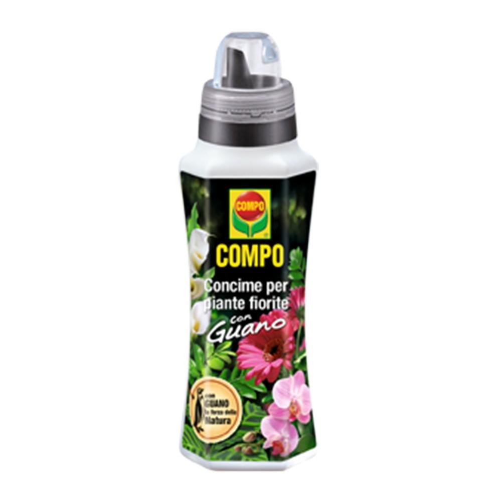 Compo Concime per Piante Fiorite con Guano Flacone 1 lt