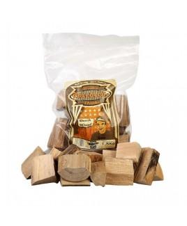 Chunks per affumicatura aroma Beech Faggio 1,5kg Axtschlag