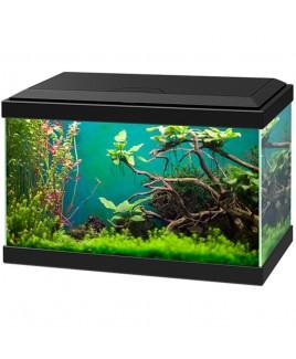 ASKOLL Acquario Aqua 20 nero 40x20x26 con led e filtro 17 litri