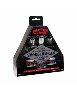 Affumicatori istantanei Smoke in a can Bbq Pit Boys BPBSMC101