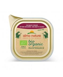 Alimento cane Almo Nature Bio Organic manzo con verdure 300g