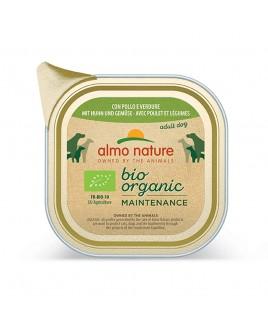 Alimento cane Almo Nature Bio Organic pollo con verdure 300g
