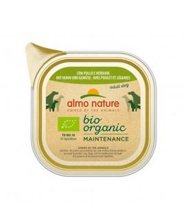 Alimento cane Almo Nature Bio Organic pollo e verdure 100g