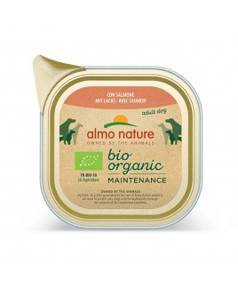 Alimento cane Almo Nature Bio Organic salmone 100g