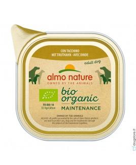 Alimento cane Almo Nature Bio Organic tacchino 100g