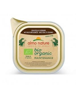 Alimento cane Almo Nature Bio Organic vitello e verdure 100g