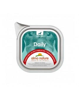 Alimento cane Almo Nature Daily manzo e patate 100g 1pezzo