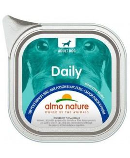 Alimento cane Almo Nature Daily pesce bianco e riso 100g 1pezzo