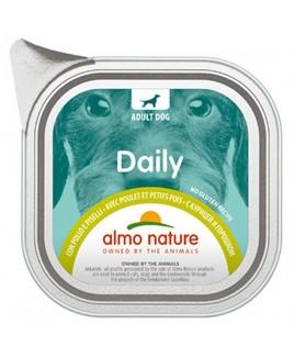 Alimento cane Almo Nature Daily pollo e piselli 100g 1pezzo