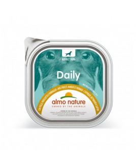 Alimento cane Almo Nature Daily pollo prosciutto e formaggioi 100g 1pezzo