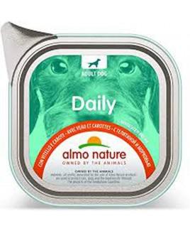 Alimento cane Almo Nature Daily vitello e carote 100g 1pezzo
