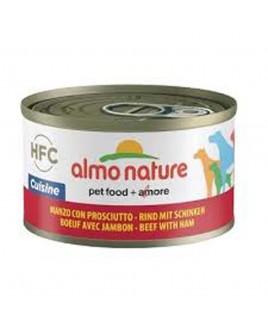Alimento cane Almo Nature HFC Cuisine manzo con prosciutto 95g