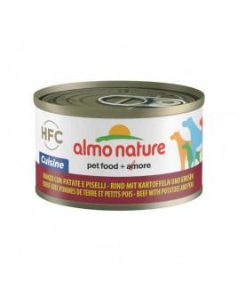 Alimento cane Almo Nature HFC Cuisine manzo patate e piselli 95g