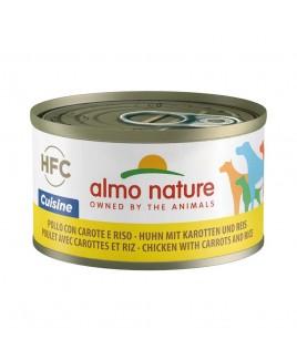 Alimento cane Almo Nature HFC Cuisine pollo carote e riso 95g