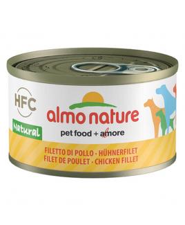Alimento cane Almo Nature HFC Natural filetto di pollo 95g