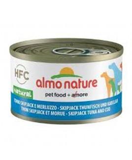 Alimento cane Almo Nature HFC Natural Tonno skip jack e merluzzo 95g