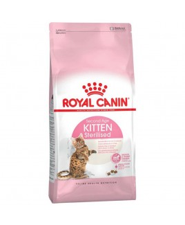Alimento gatto Royal Canin Feline Health Nutrition Kitten Sterilised 400g