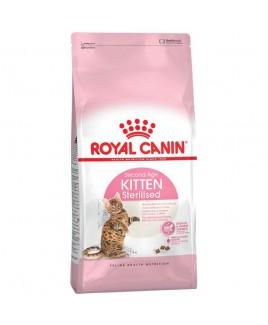 Alimento gatto Royal Canin Feline Health Nutrition Kitten Sterilised 400g