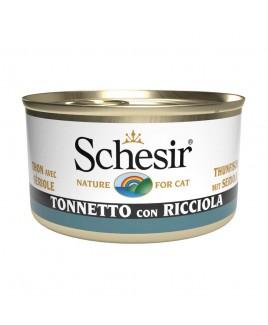 Alimento gatto Schesir cat tonnetto e ricciola 85g