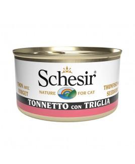 Alimento gatto Schesir cat tonnetto e triglia 85g