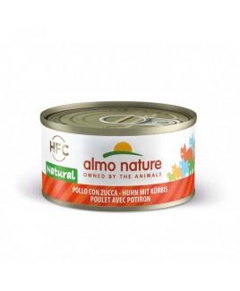 Alimento gatto Almo Nature HFC natural pollo e zucca 70g