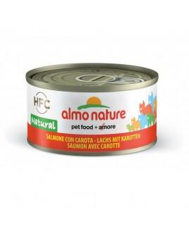 Alimento gatto Almo Nature HFC natural salmone e carote 70g