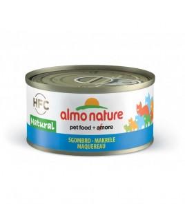 Alimento gatto Almo Nature HFC natural sgombro 70g