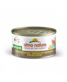 Alimento gatto Almo Nature HFC natural tonno con acciughine 70g